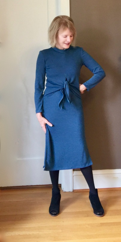 e663fd91fb2 Sew Twists and Ties  the Ruska Knot Dress – Elle Gee Makes