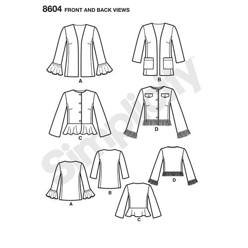 simplicity-peplum-jacket-pattern-8604-front-back-view